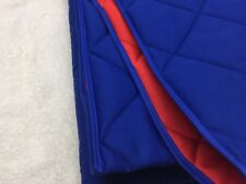 FLEXA QUILT AND PILLOW SET - #73787 - BLUE AND RED SOLID CHILDREN'S QUILT - NEW!