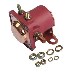 New 12V Heavy Duty Solenoid Relay Red Fits For Ford Starter Car Truck SW3 SNL135