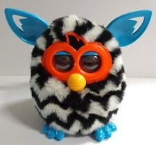 Hasbro Furby Boom Interactive Zebra Black White Orange Blue 2012