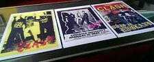 The Clash set of three posters A3 best quality heavy canvas paper