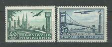 Yugoslavia kingdom 1940 ☀ Air mail - Complete set Mi 426/427 ☀ MNH**