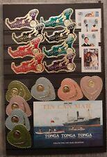 TONGA (2594) Nice Small Collection  (MNH)