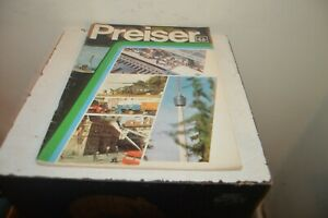 Catalogue Preiser Ho N 1/32 Decoration Figurine City Station Model Army Review