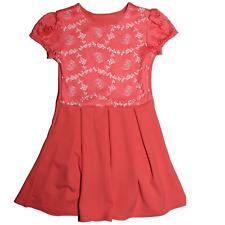 Mädchen Kleid Festkleid Sommerkleid Rosa 86 -92 (2)