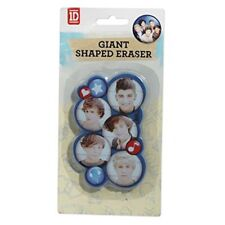 ONE DIRECTION GIANT SHAPED ERASER RUBBER NEW SCHOOL 1D