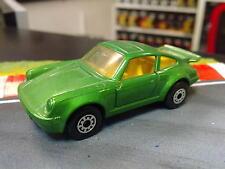 Matchbox Porsche 911 Turbo metallic groen