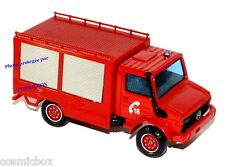 Camion de pompier MERCEDES UNIMOG collection SOLIDO red fire truck di pompiere