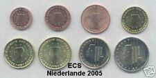 Niederlande 2005 Euro-Satz 1 Cent -2 € komplett unz.-bfr., Kleinstauflagen!