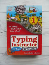 Typing Instructor Cd & Software Windows Educational Homeschool Resource