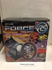 ACT LABS FORCE RS RACING SYSTEM - WHEEL VOLANTE PC FORCE FEEDBACK - NEW NUOVO