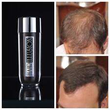 Hair Illusion 38.5g PREMIUM Real Natural Hair Loss Concealing Fibers Dark Brown