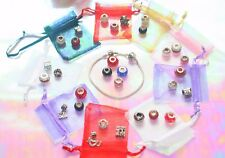 12 Days Of Christmas Jewellery Advent Calendar 925 Silver In Organza Bags New