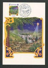 GUERNSEY MK 1986 WEIHNACHTEN CHRISTMAS NAVIDAD CARTE MAXIMUM CARD MC CM d9181