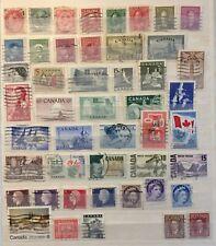 Briefmarken Canada - Kanada  LOT postfrische Sonder- und Dauermarken