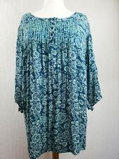 Ladies Ann Harvey Beaded Tunic Top Plus Size 26