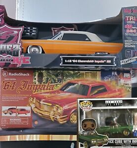2x 1964 Impala  RC , Radio Shack and  RARE, HARD TO FIMD Maisto.  Plus *BONUS*