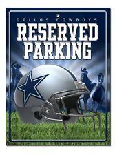 NFL Dallas Cowboys Hi-Res Metal Parking Sign, New, Free Shipping