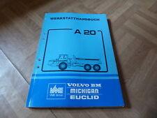 Allgemeines Werkstatthandbuch Volvo BM A 20 Muldenkipper