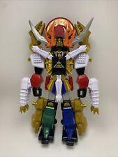 New listing Power Rangers Super Samurai Gigazord Deluxe Megazord 2012 Bandai Zord Builder