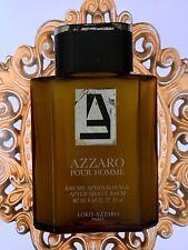 Vintage RARE AZZARO POUR HOMME AFTER SHAVE balm  63 ml left men splash