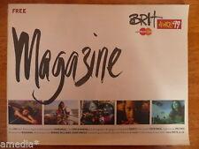 MINT RARE Brit Awards Programme UK Magazine 1999 MADONNA INTERVIEW Manics Book