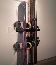 Ski and Snowboard Rack Wall Mount