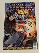 Transformers Infiltration #1 C January 2006 IDW Comics