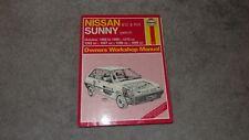 Haynes Owners Workshop Manual - Nissan Sunny - 1986 - 1990