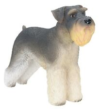 "Schnauzer Figurine 3.5"" - New In Box - World Of Dogs Collection - Free Shipping"