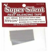 "Speed Glide Teflon Adhesive Arrow Rest Silencing Tape Archery .015"" Thickness"