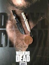 ThreeZero The Walking Dead TWD Daryl Dixon Knife & Sheath loose 1/6th scale