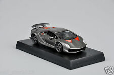 1/64 Grey Lamborghini Sesto Elemento Minicar Collection Car Kyosho Model Toys