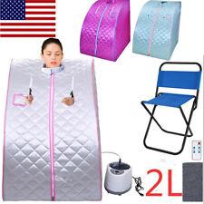 2L Portable Home Steam Sauna Spa Full Body Sauna Tent Loss Weight Detox Therapy