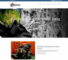 PAINTBALLING GEAR Website Business Upto £479.34 A SALE. INSTANT TRAFFIC SYSTEM