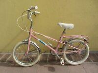 vecchia bici  bambina rosa - QUADRIGA MICHELA - bicicletta vintage vedi foto