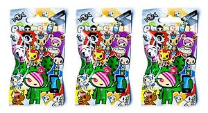 Tokidoki Phonezies Series PVC Phone Jack Figure~ Three Random Blind Bags TK7600