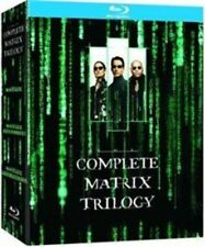 The Complete Matrix Trilogy Blu-ray 1999 Region