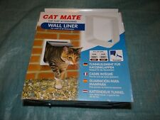 Cat Mate Wall Liner Cat Flap Accessory Paintable Suitable For Locking Cat Flap