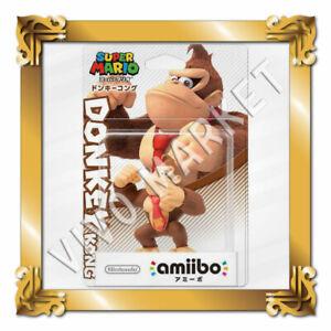 Japan Nintendo amiibo DONKEY KONG 3DS Wii U SUPER MARIO Series FS
