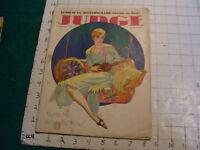 "vintage magazine: JUDGE September 22, 1928 w Dr. Suess cartoon w/ ""N"" word"