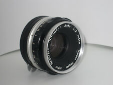Vintage Nikon Nippon Kogaku Nikkor-S Auto 1:2 f=5cm Lens (Made in Japan) & Other