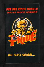 Pee Dee Pride--1997-98 Pocket Schedule--BellSouth Mobility