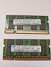 Sodimm Ram Samsung 1GB x 2 PC2-5300S-555 DDR2 667MHZ 2Rx8 M470T2953EZ3-CE6