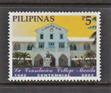 Philippine Stamps 2002 La Consolacion College Manila Centennial Complete MNH