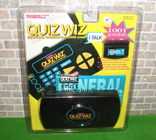 NEW! Vintage 1993 QUIZ WIZ Electronic Question & Answers Game Tiger Electronics