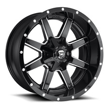 (4) 17x9 Fuel D610 Gloss Black Maverick Wheels 6X135 & 6X139.7 For Toyota Jeep