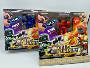 2PC SET Boxing Battle Robot Remote Control Fighting Group Game Christmas Toy US