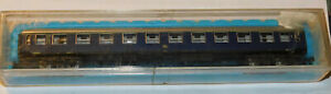 ATLAS 2681 DB 1ST CLASS BLUE PASSENGER COACH A4ümg #2009 Han N GAUGE