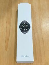 Samsung Galaxy Watch3 SM-R840 45mm Stainless Steel Case with Leather Strap NEW*