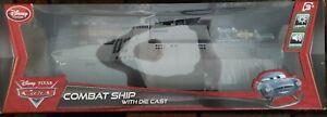 Disney Pixar Cars #2 Tony Trihull Combat Ship! (3) Cars Included! New! Rare!